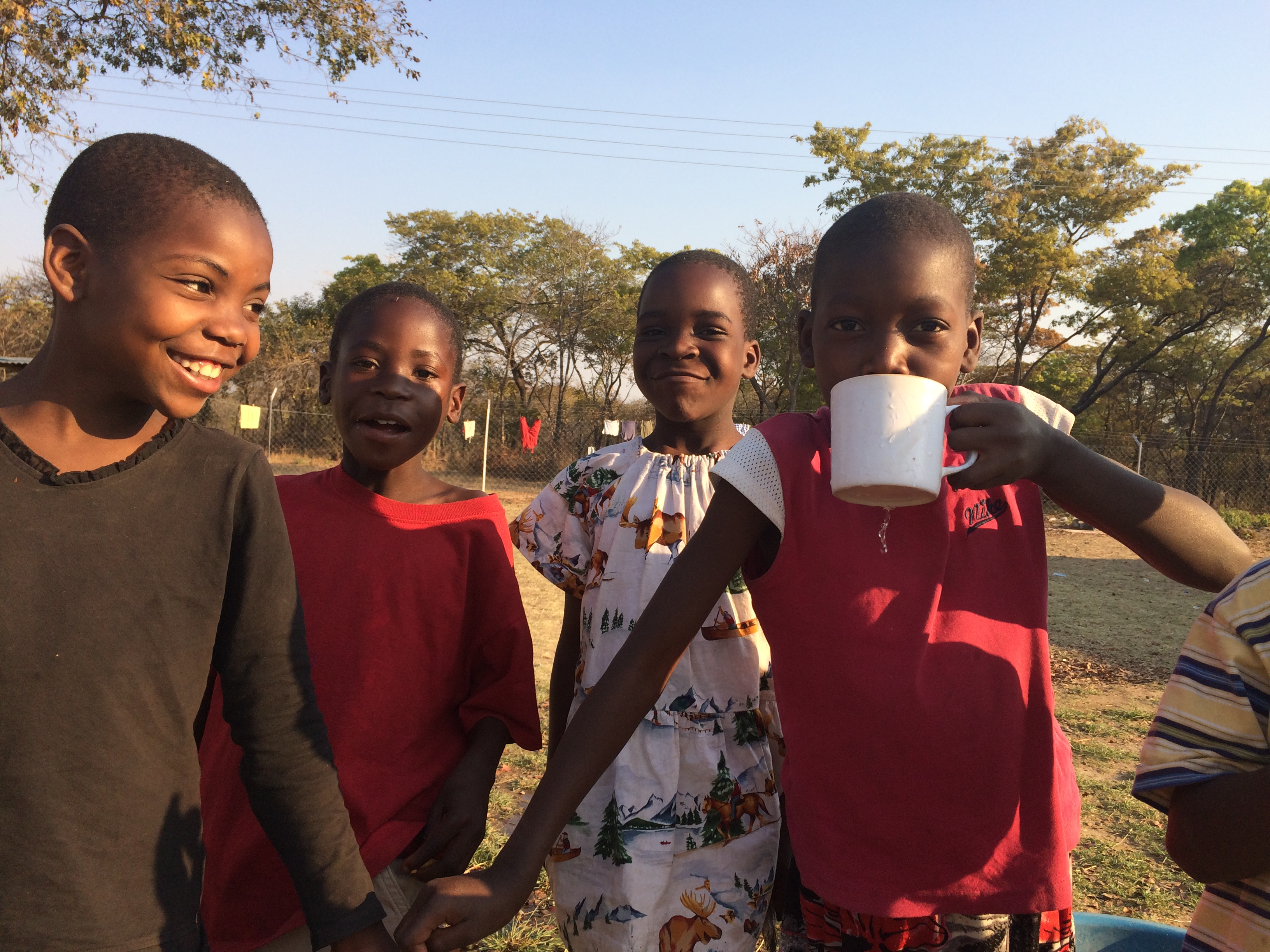 Children Drinking Fresh Water  2018.JPG